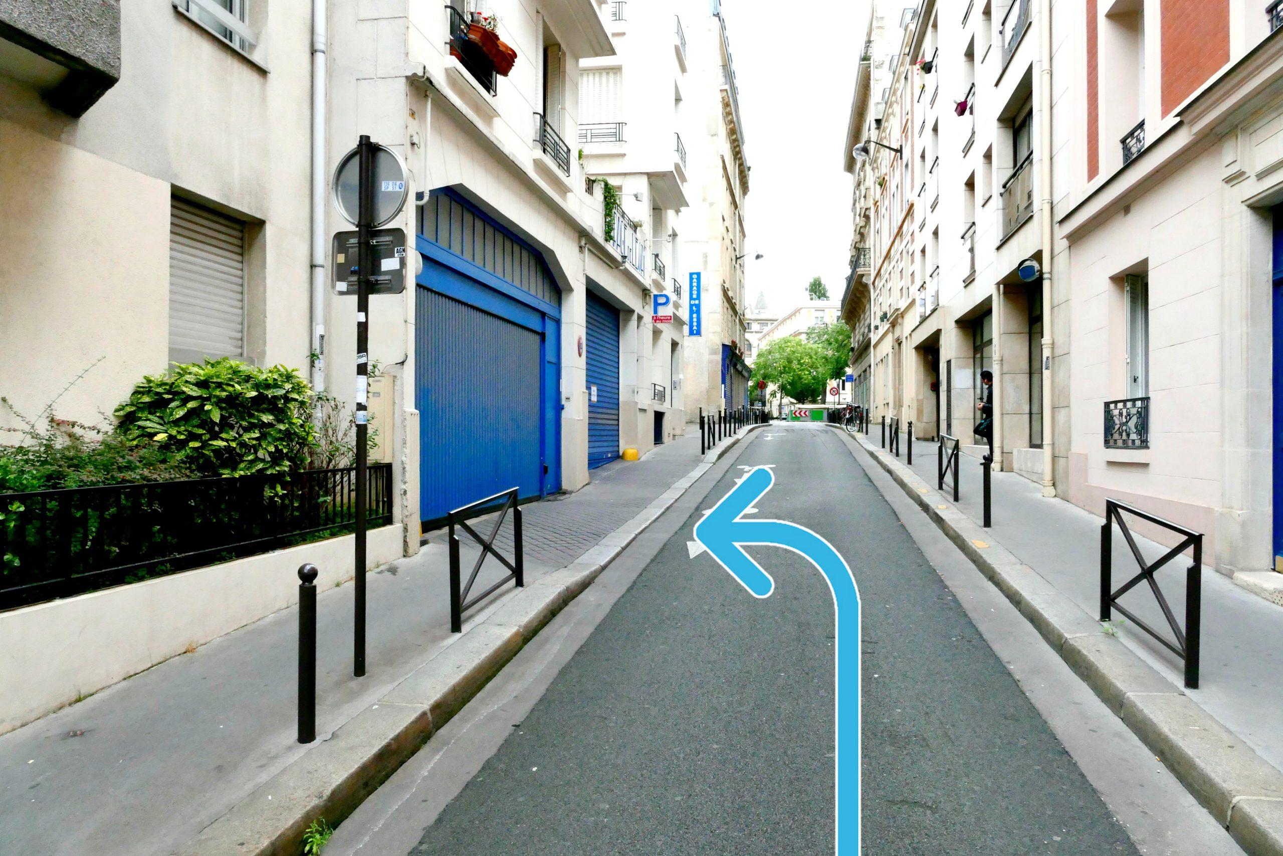 parking dans paris