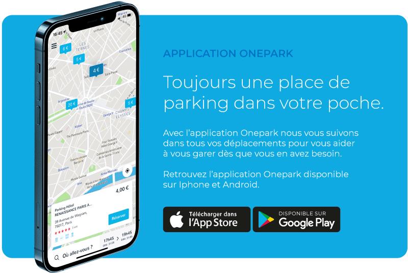 application mobile onepark