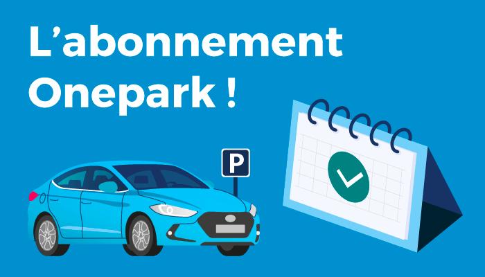 location de parking au mois Onepark