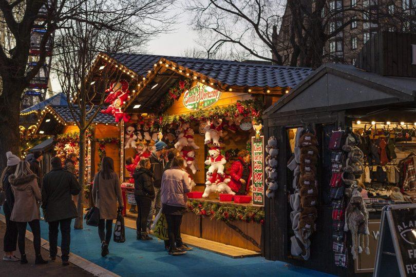 Les plus beaux marchés de Noel