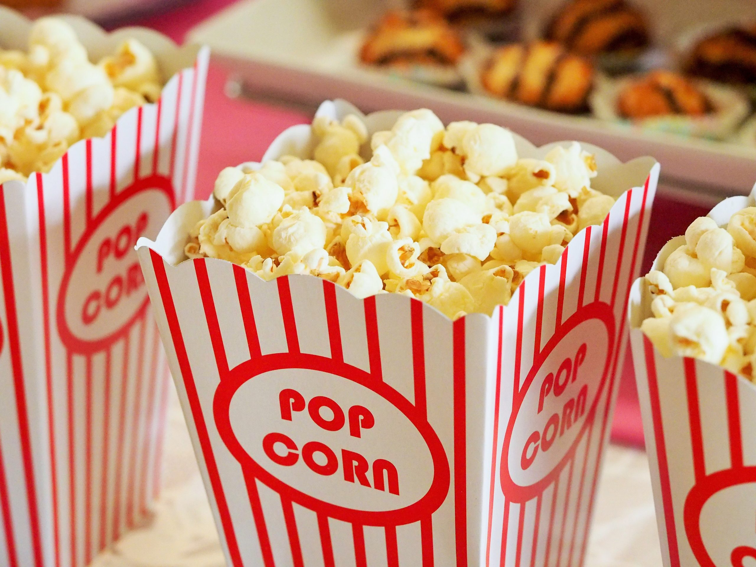 pop corn au cinéma